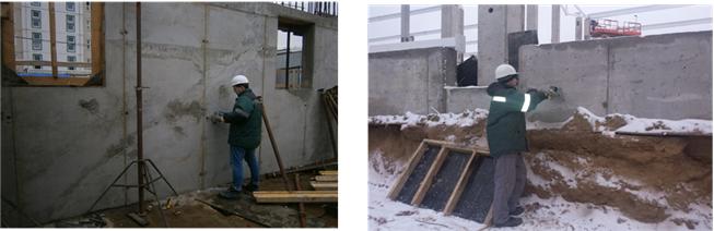 Обследование зданий: методы неразрушающего контроля.
