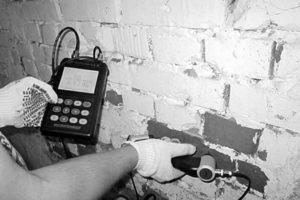 Обследование стен
