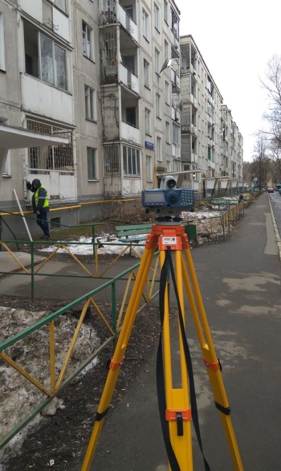геодезический мониторинг окружающей застройки - объекты