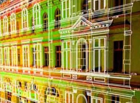лазерное сканирование здания